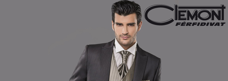 Clemont Men's Fashion Collection Wedding Suits  2015